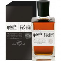 Relicario Ron Dominicano PEATED FINISH Rum 0,7L