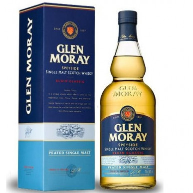 Glen Moray Elgin Classic Peated Single Malt Whisky 0,7L