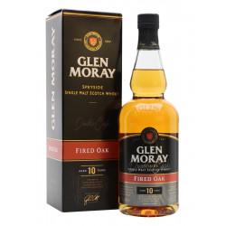 Glen Moray Fired Oak Single Malt Scotch Whisky 10yo 0,7L