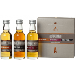 Auchentoshan Gift Collection Whisky 3x0,05L (American Oak + 12yo + Three Wood)