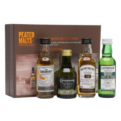 Peated Malts of Distinction Tasting Selection Whisky 4x0,05L