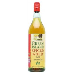Green Island Spiced Gold Rum 0,7L