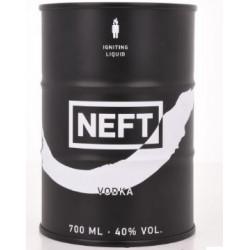 NEFT Vodka White Barrel Limited Edition Black 0,7L