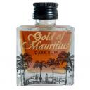 Gold of Mauritius Dark Rum 0,05L