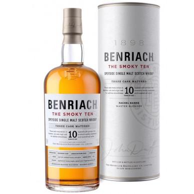 BenRiach CURIOSITAS Peated Malt Whisky 10yo 0,7L