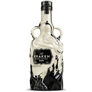 Kraken Black Spiced Ceramic Limited Edition Rum 0,7L
