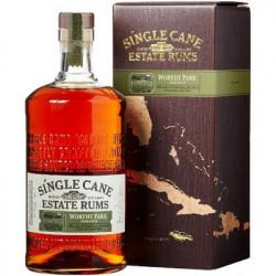 Single Cane Estate Rums WORTHY PARK JAMAICA Rum 1L