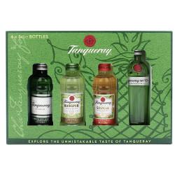 Tanqueray Gin Miniature Set 4x0,05L
