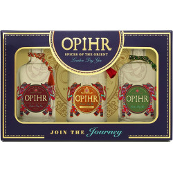 Opihr SPICES OF THE ORIENT London Dry Gin Miniset 3x0,05L