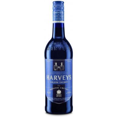 Harvey's Bristol Cream Blue Bottle Sherry 1L