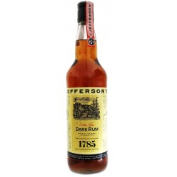 Jefferson's 1785 Dark Rum 0,7L