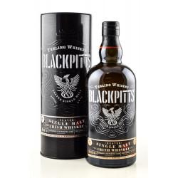 Teeling Whiskey BLACKPITTS PEATED Single Malt Irish Whiskey 0,7L