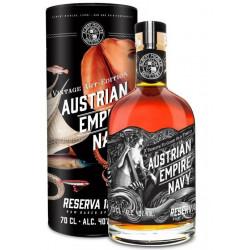 Austrian Empire Navy Reserve 1863 Rum Art Edition 0,7L