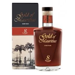 Gold of Mauritius Solera Dark Rum 8yo 0,7L