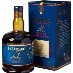 El Dorado Special Reserve Rum 21yo 0,7L