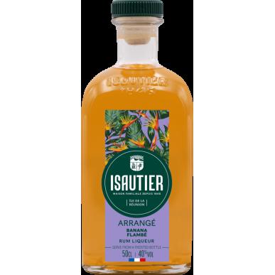 Isautier Arrangé Banane Flambée Rum 0,5L