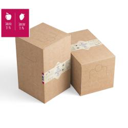 Dědečkův sad Bag in box Jablko 85% + Jahoda 15% 5L