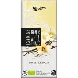 Meybona Organic - Bílá čokoláda s bourbonskou vanilkou 100g