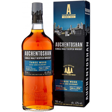 Auchentoshan Three Wood Whisky 0,7L