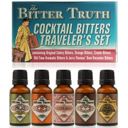 The Bitter Truth Cocktail Bitters Traveler's Miniset 5x0,02L