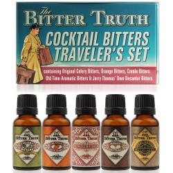 The Bitter Truth Cocktail Bitters Traveler's Miniset 5x0,02L