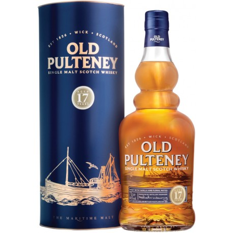 Old Pulteney Whisky 17 let 0,7L