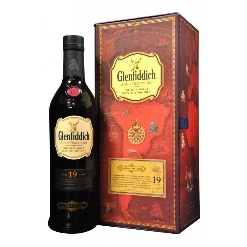 Glenfiddich Age Of Discovery Red Wine Cask Whisky 19yo 0