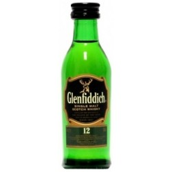 Glenfiddich Whisky 12 let 0,05L