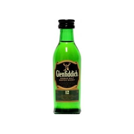 Glenfiddich Whisky 12 let 0,05L