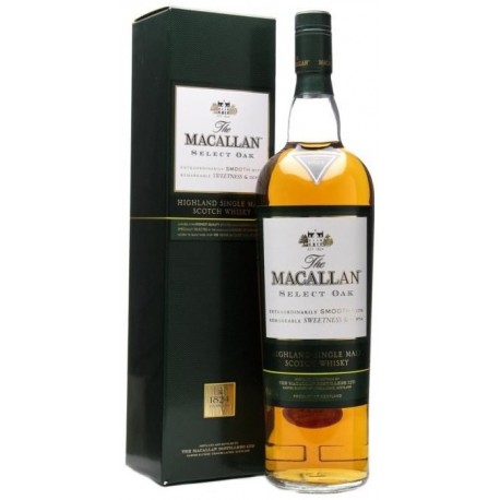 Macallan 1824 Collection Select Oak Whisky 1L