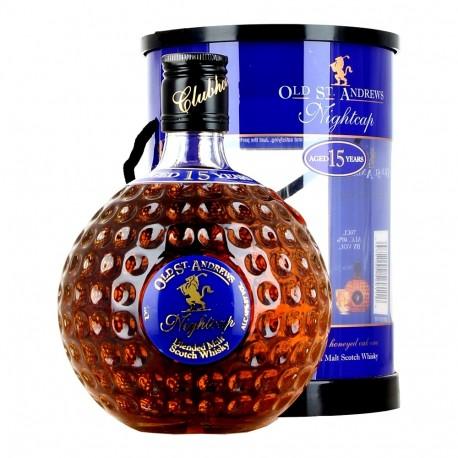 Old St. Andrews Fireside Whisky 15 let 0,7L