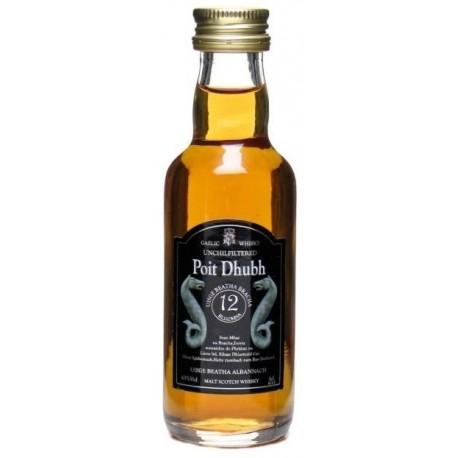 Poit Dhubh Blended Malt Whisky 12 let 0,05L