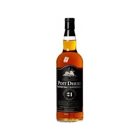 Poit Dhubh Blended Malt Whisky 21 let 0,7L