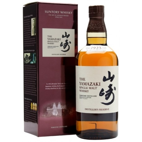 Suntory Yamazaki Single Malt Distiller's Reserve Whisky 0,7L