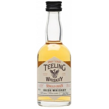 Teeling Single Grain Wine Cask Finish Whiskey 0,05L