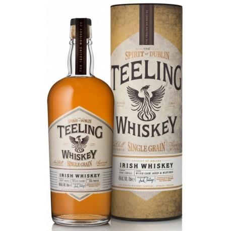 Teeling Single Grain Wine Cask Finish Whiskey 0,7L