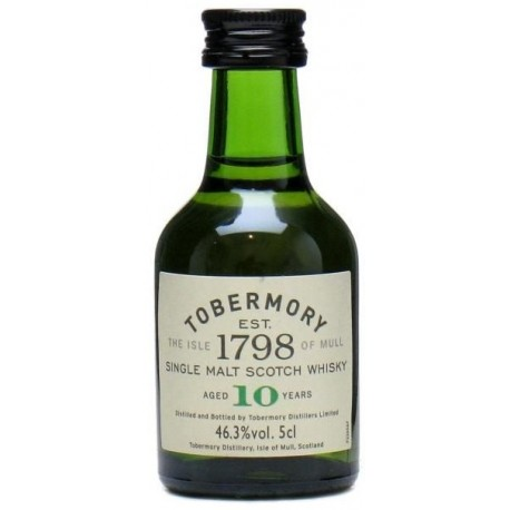 Tobermory Whisky 10 let 0,05L
