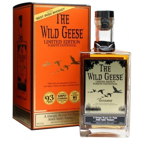 Wild Geese 4th Centennial Limited Edition Whiskey 0,7L