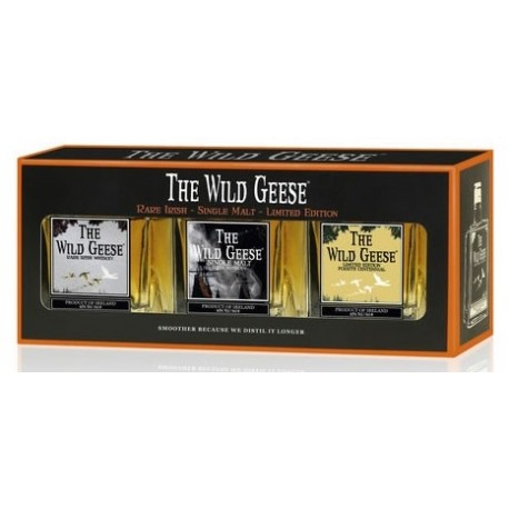 Wild Geese Whiskey Miniset 3x0,05L (Rare Irish + Single Malt + Limited Edition)