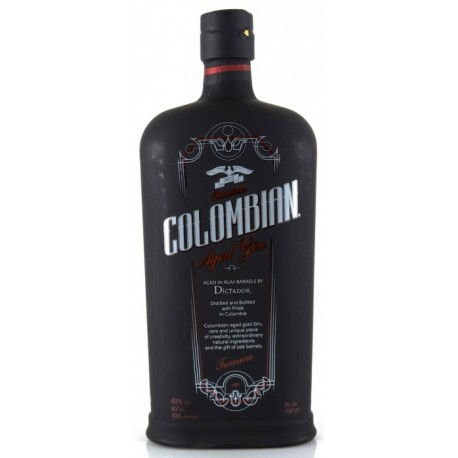 Dictador Colombian Treasure Aged Black Gin 0,7L