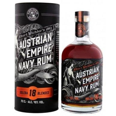 Austrian Empire Solera Navy Rum 18 let 0,7L