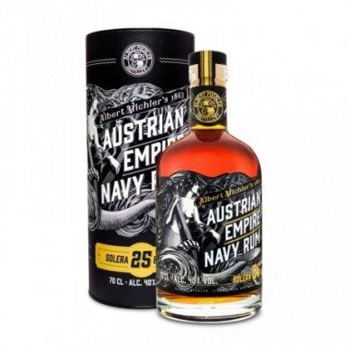 Austrian Empire Solera Navy Rum 25 let 0,7L