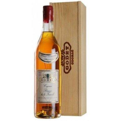 Godet Reserve De La Famille Grand Champagne Cognac 40 let 0,7L