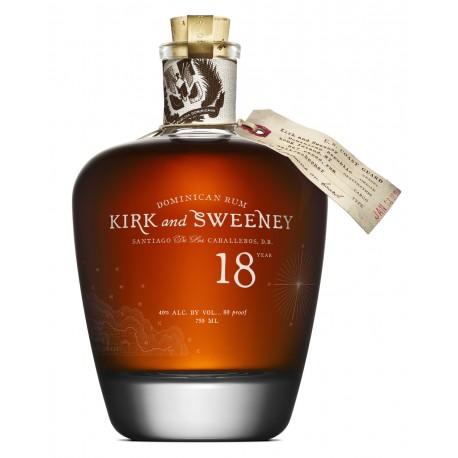 Kirk & Sweeney Rum 18 let 0,75L