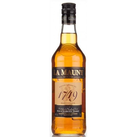 La Mauny Agricole Ambré 1749 Rhum 0,7L