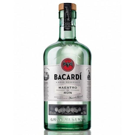 Bacardi Gran Reserva Maestro de Ron Rum 1L