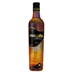 Macollo Black Rum 12 let 0,7L