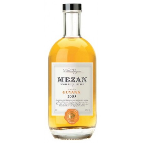 Mezan 1998 Single Distillery Guyana Uitvlugt Rum 0,7L