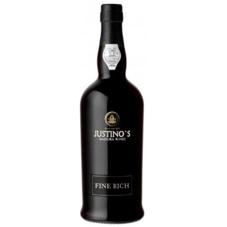 Justinos Fine Rich Madeira 3 roky 0,75L