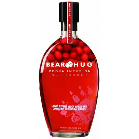 Bear Hug Infusion Cranberry Vodka 1L